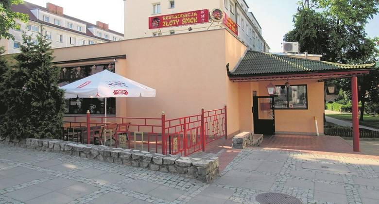 Restauracja Złoty Smok w Stargardzie.