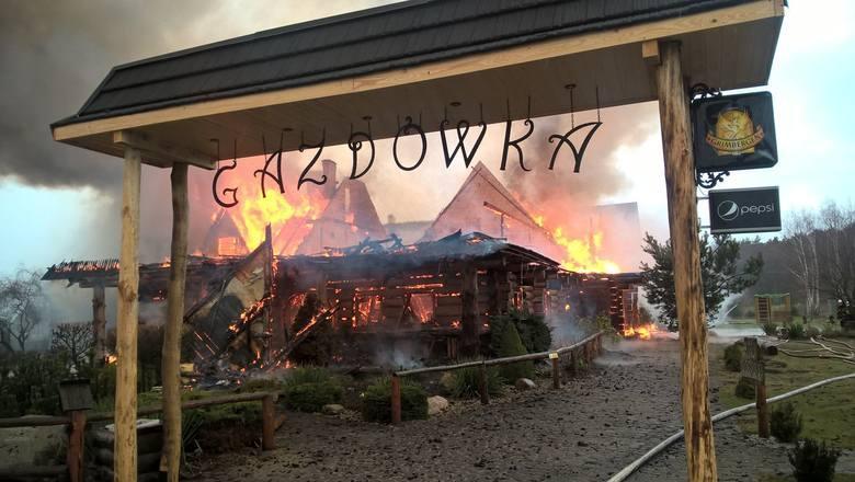 W marcu 2016 roku doszczętnie spłonęła restauracja Gazdówka, znajdująca się w podbydgoskim Żołędowie. Z ogniem walczyło wówczas 15 zastępów straży pożarnej.