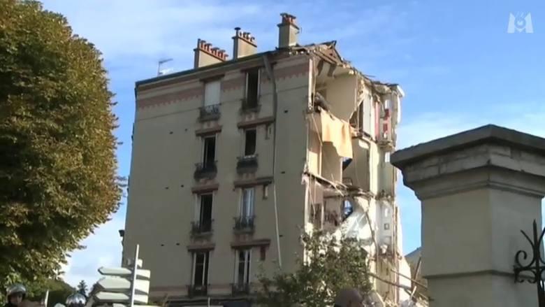 Paryż. Wybuch gazu zniszczył dom. 2 osoby nie żyją (wideo)