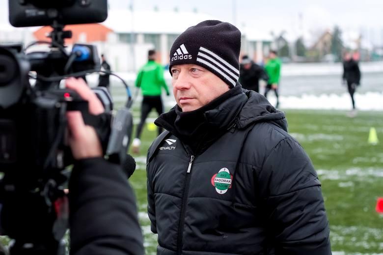 Fortuna 1 Liga. Dariusz Banasik, trener Radomiaka: - Ktoś do nas przyjdzie, ale też ktoś od nas odejdzie (WIDEO, ZDJĘCIA)