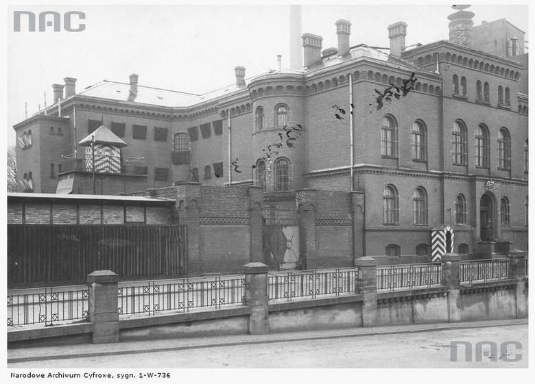 Wojskowe więzienie śledcze - 1931 rok