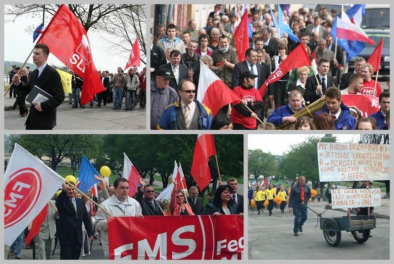 SLD we Włocławku organizuje spotkanie przy pomniku Ludziom Pracy na Bulwarach i pochód pierwszomajowy ulicami Włocławka. Znów sympatycy SLD przejdą bulwarami,
