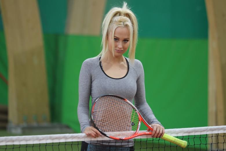 Śląska miss kortu promuje tenis oraz zdrowy styl życia [ZDJĘCIA]