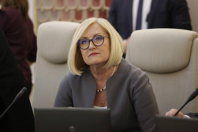 Z funkcją rzecznika rządu żegna się Joanna Kopcińska.