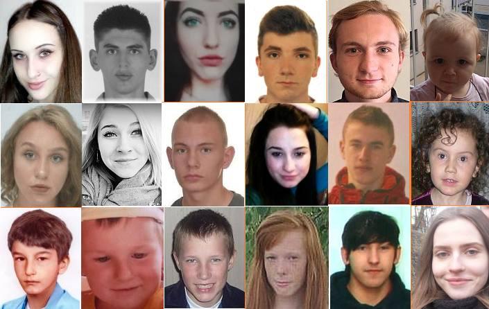 W bazie fundacji Itaka znajduje się ponad 1100 osób zaginionych. Część z nich stanowią osoby do 21 roku życia. Szukają ich rodziny, bliscy i przyjaciele.