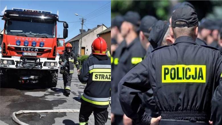 Policjanci i strażacy dbają o nasze bezpieczeństwo. Zajrzeliśmy do ich portfeli i sprawdziliśmy zarobki służb w naszym regionie.Stawki poznasz w dalszej