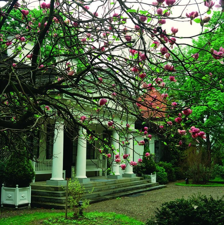 Zdjęcia dworu, parku i arboretum w Lusławicach użyczone dzięki przychylności kierownictwa Europejskiego Centrum Muzyki Krzysztofa Pendereckiego
