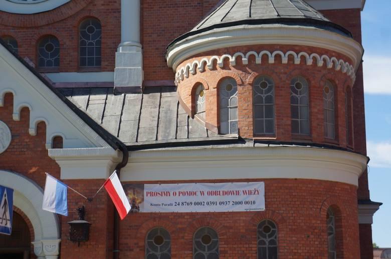Nadal mile widziane są datki od wiernych. Proboszcz nie poinformował mediów, o wysokości odszkodowanie, jakie wpłynęło po pożarze na konto parafii.