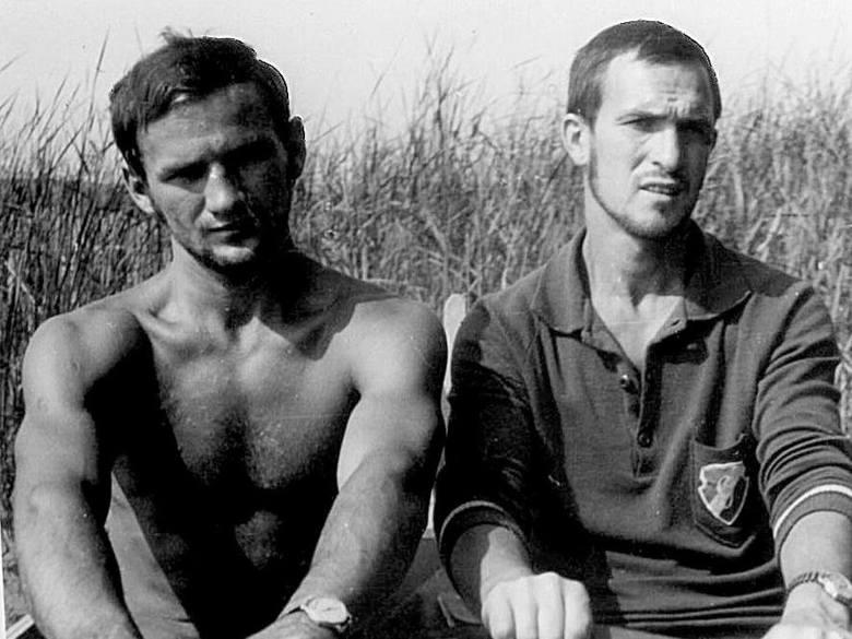Edward Witkowski w 1965 r., kilka miesięcy przed zdobyciem tytułu.