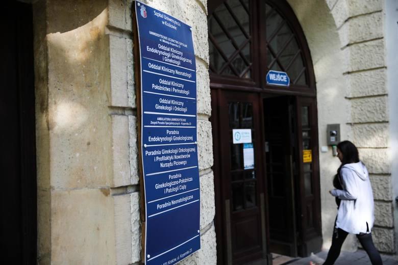 Szpital Uniwersytecki, Oddział ginekologiczno-położniczy, neonatologia