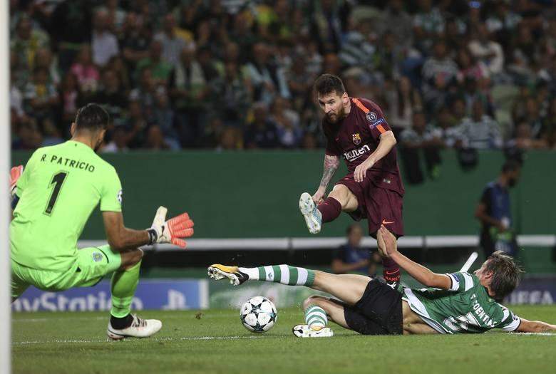 Liga Mistrzów. Barcelona wywiozła trzy punkty z Lizbony po samobóju