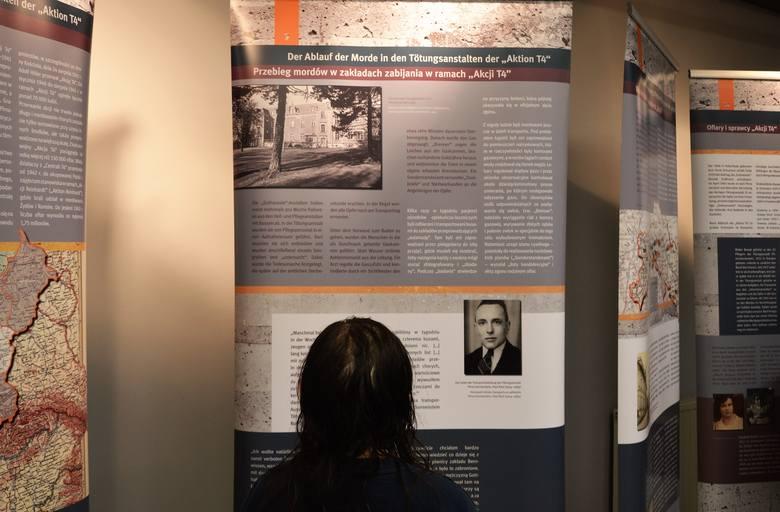 Wystawa o eutanazji Ślązaków w czasach nazistowskich otwarta w CMJW w Opolu