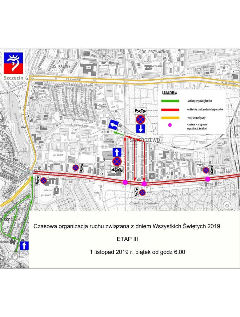 WSZYSTKICH ŚWIĘTYCH 2019 w Szczecinie. Komunikacja miejska, parkingi i zmiany w ruchu na 1 listopada