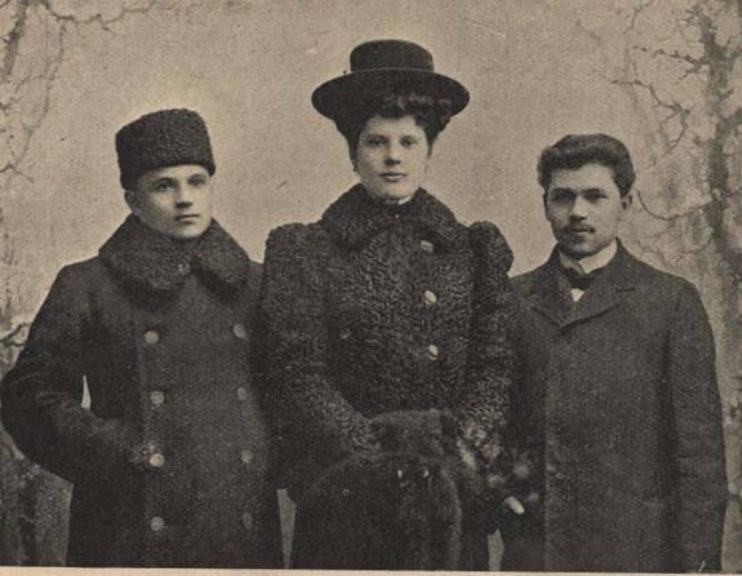o. Damazy Macoch, Helena Krzyżanowska oraz Franciszek Macoch