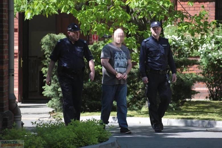 Łukasz P. za podwójny mord we Włocławku nieprawomocnie skazany został na dożywocie.