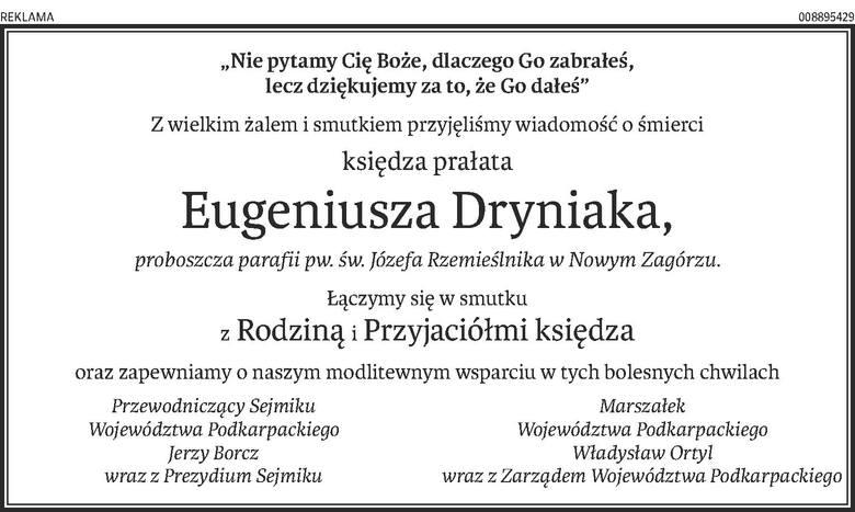 Nekrologi i kondolencje z dnia 12 lutego 2019 roku