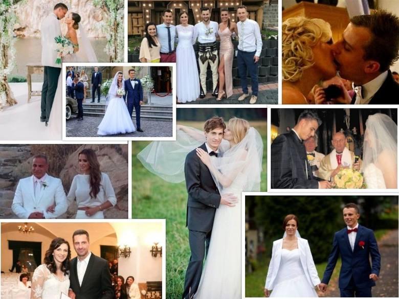Wiosna i lato to tradycyjnie najlepszy moment na ślub. Wielu sportowców właśnie w maju, czerwcu i kolejnych wakacyjnych miesiącach decyduje się wstąpić