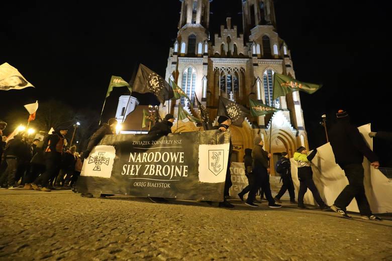 Z okazji Narodowego Dnia Pamięci Żołnierzy Wyklętych przypadającego na 1 marca, w stolicy Podlasia odbył się już VII Białostocki Marsz Pamięci Żołnierzy