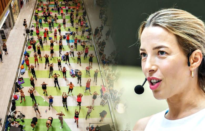 """W sobotę, 15 czerwca, Zielone Arkady w Bydgoszczy zmieniły się w ogromną salę gimnastyczną. Przez cały dzień odbywają się wydarzenia w ramach """"Be"""