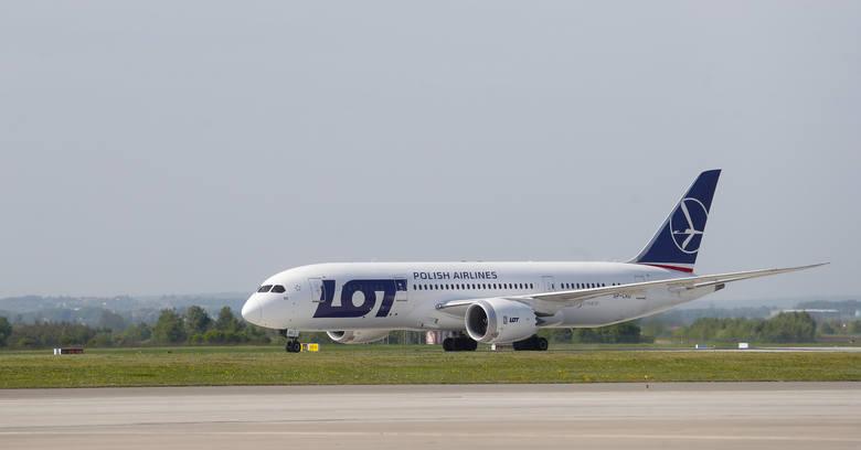 Inauguracja połączenia LOT z Jasionki do Nowego Jorku.