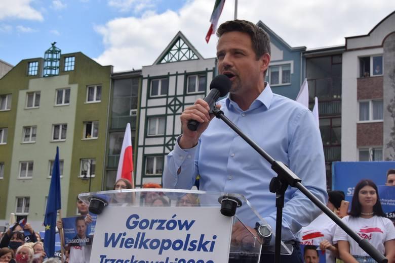 Z danych sondażowych wynika, że w Lubuskiem wygrał Rafał Trzaskowski.