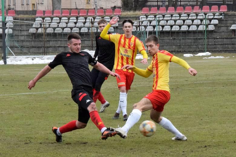 Korona Kielce przegrała z Jagiellonią Białystok 0:1 w pierwszym tegorocznym meczu w Centralnej Lidze Juniorów do 18 lat. Spotkanie odbyło się na stadionie