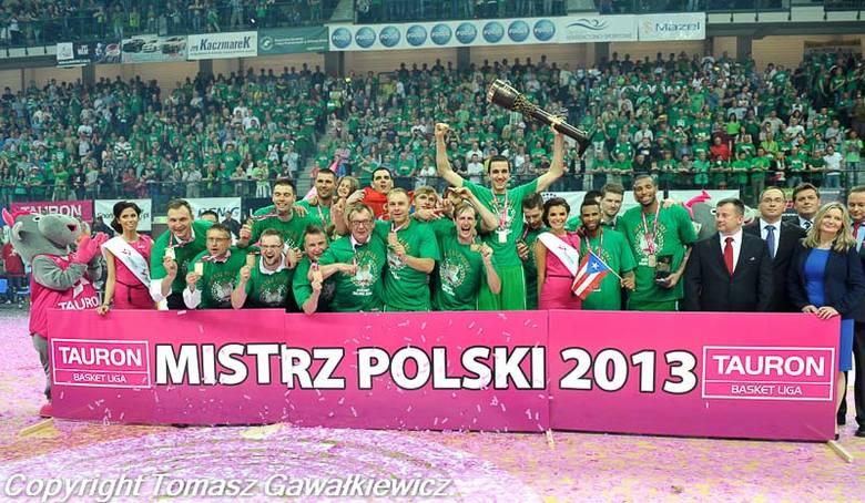 Koszykówka. Stelmet Zielona Góra Mistrzem Polski.Koszykówka. Stelmet Zielona Góra Mistrzem Polski.