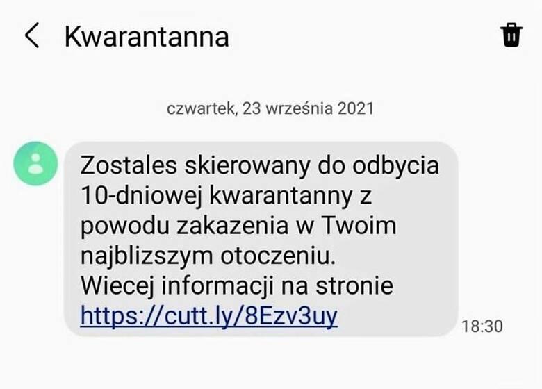 Uwaga! Mieszkańcy regionu radomskiego i całej Polski dostają SMS o kwarantannie. Sanepid ostrzega: To oszustwo!