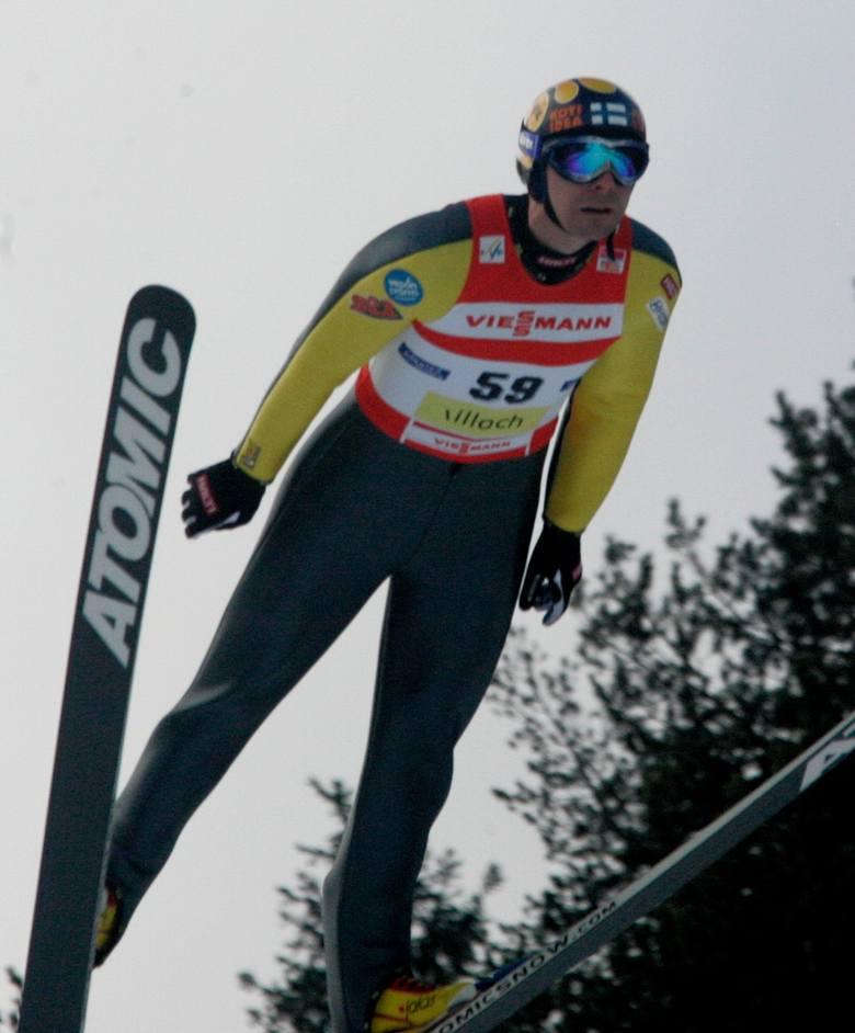 4. JANNE AHONEN (Finlandia)36 zwycięstw w Pucharze Świata. Pierwsze - 19 grudnia 1993; ostatnie 4 marca 2008.