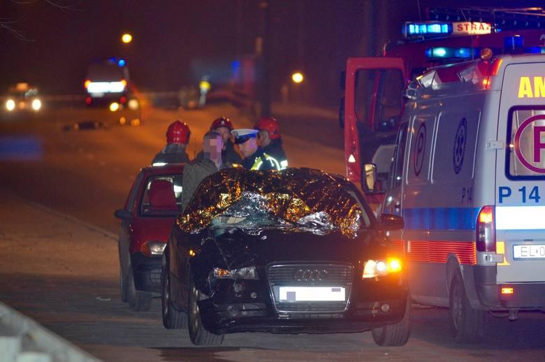 Tragiczny wypadek na wiadukcie ul. Przybyszewskiego