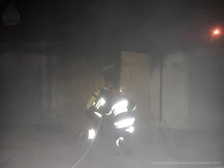 Pożar w szpitalu w Skierniewicach. Ogień w Wojewódzkim Szpitalu Zespolonym im. St. Rybickiego w Skierniewicach