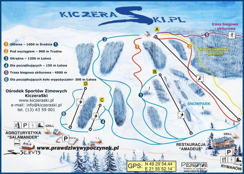 Stok narciarski w Puławach [WYCIĄGI I TRASY]