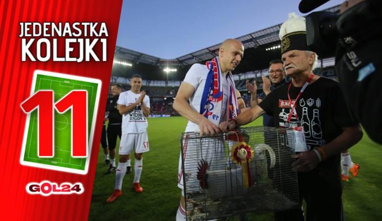 Jedenastka 37. kolejki Lotto Ekstraklasy według GOL24 [GALERIA]