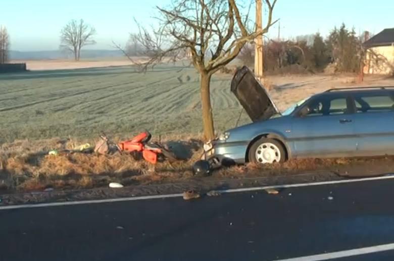 Wypadek w Wierzbiu