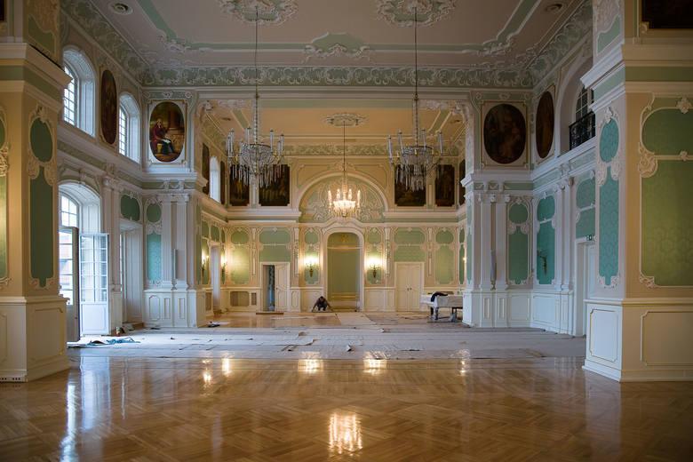 Zakończył się remont Auli Magna w Pałacu Branickich.