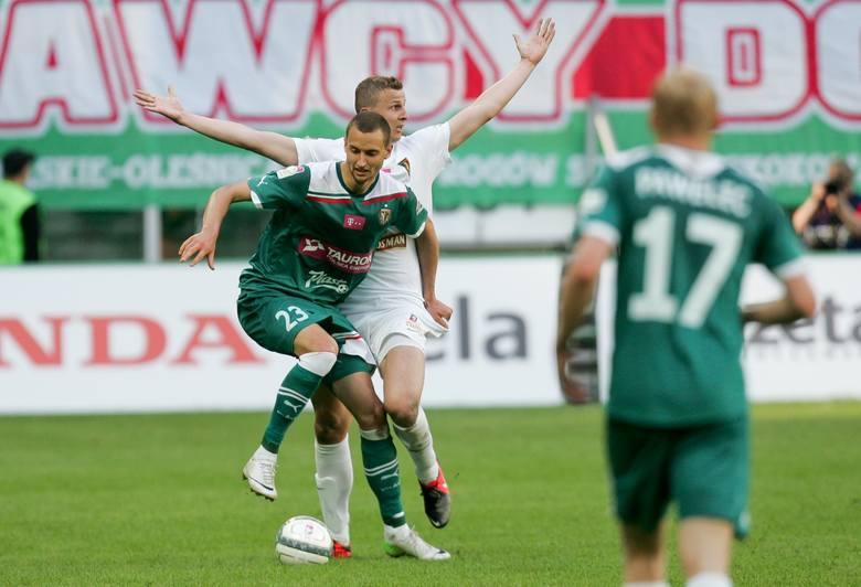 Gol Jakuba Więzika w meczu Podbrezova – Nitra (3:2). Polak wszedł na boisko w 68. minucie.