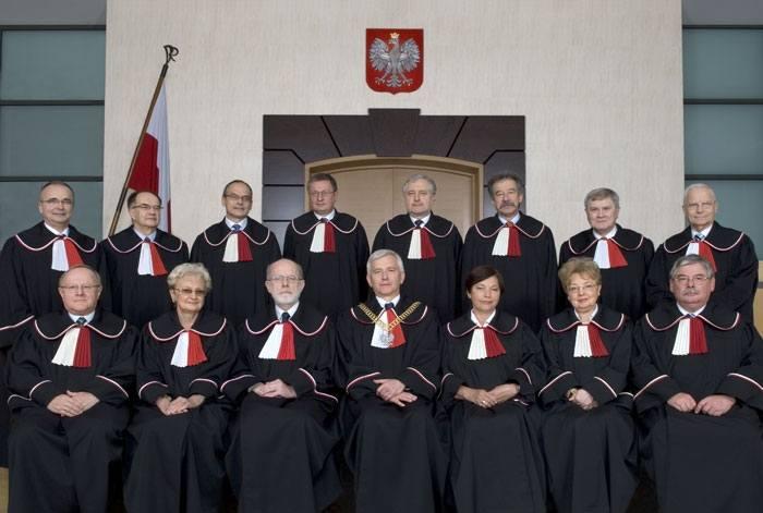 Sędziowie Trybunału