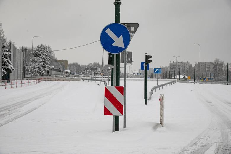 Kraków. Trasa Łagiewnicka: Otworzą w pełni skrzyżowanie ulic Witosa, Turowicza i Herberta [ZDJĘCIA]