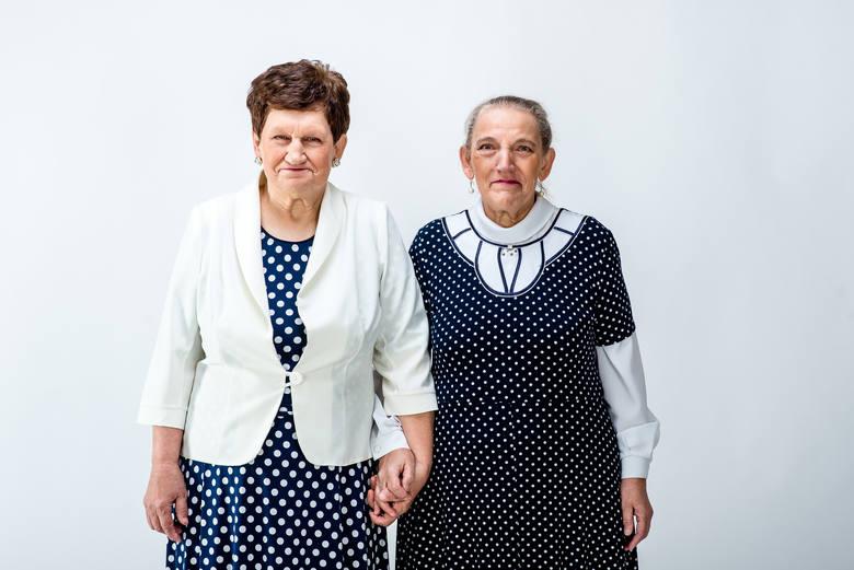 Zdjęcie pojedyncze - I miejsce w kategorii PORTRETGniezno. Zofia i Aniela to siostry, które w latach 50. jako małe dzieci z niepełnosprawnością intelektualną