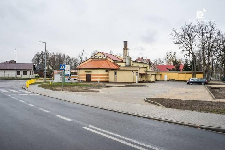 Wjazd na parking przy SOK już jest tylko od strony ul. Gdańskiej