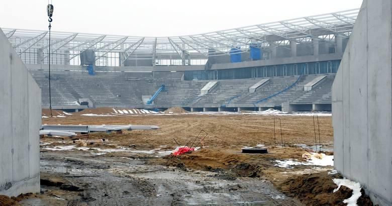 Budowa stadionu na Krochmalnej