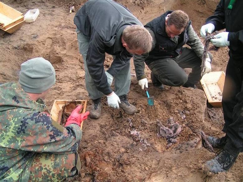 W Wolinie znaleziono szczątki żołnierzy Wehrmachtu