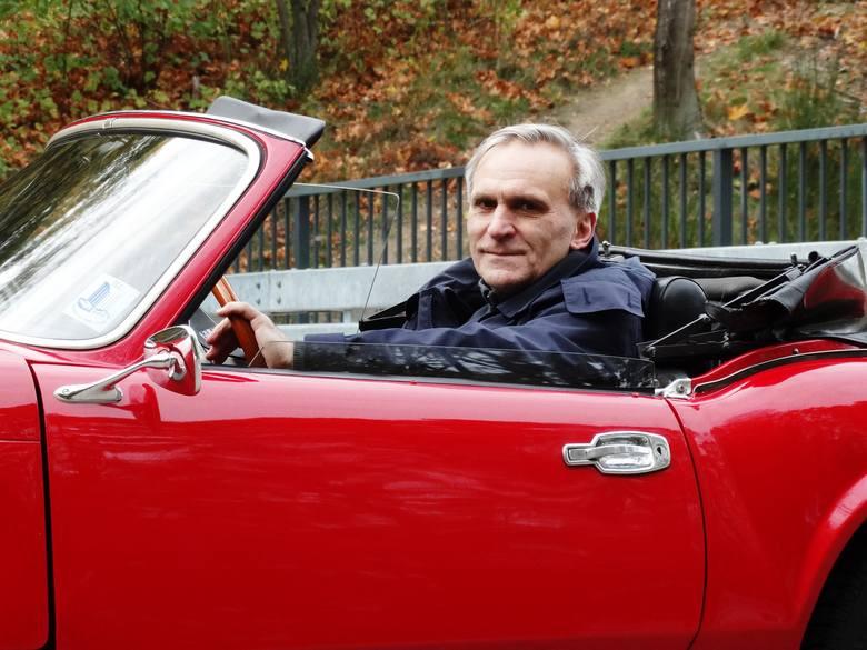 Wojciech Krukowski: - Od wczesnej młodości mam hyzia na punkcie angielskiej motoryzacji…