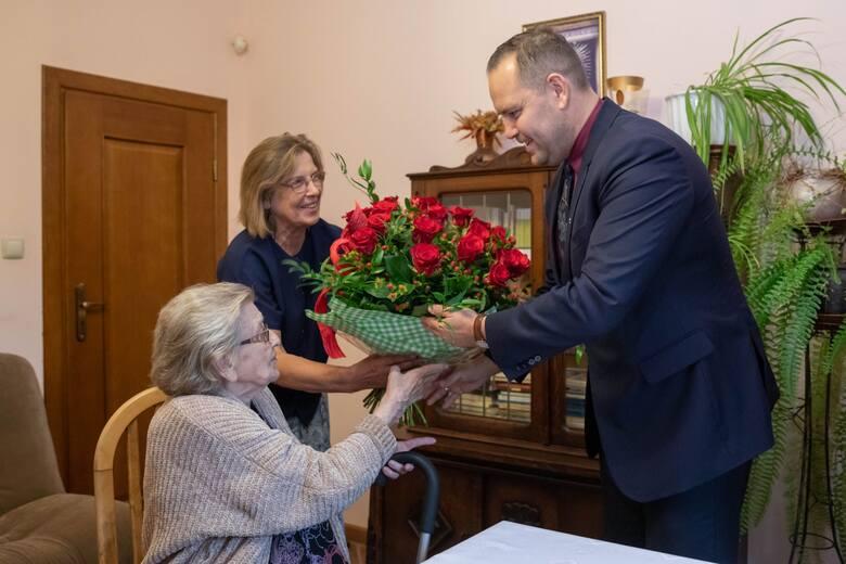 """98. urodziny Wandy Bortkiewicz ps. """"Basia"""""""