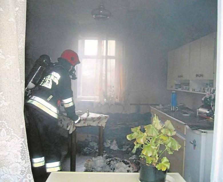 W styczniu w pożarze domu w Bryzdzyniu zginęła jedna osoba