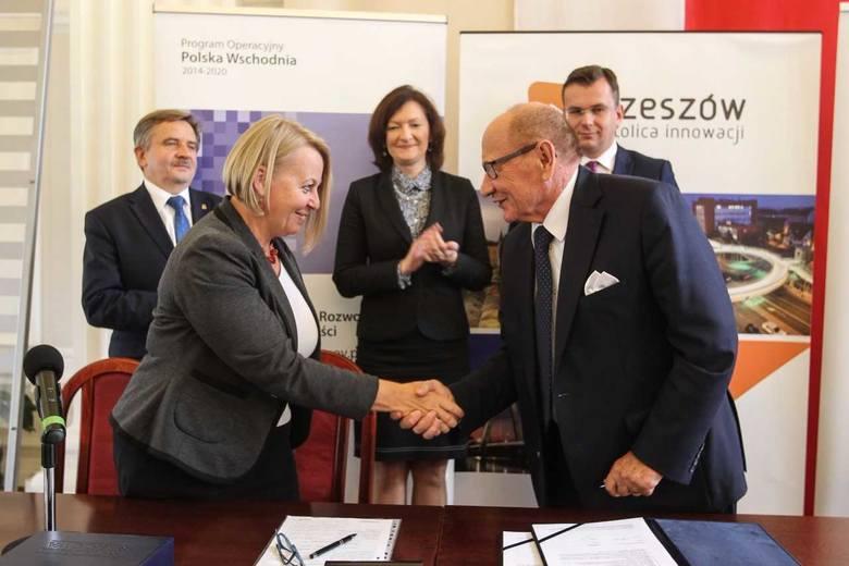 Dotacja na budowę drogi łączącej ulicę Lubelską z Warszawską w Rzeszowie przyznana