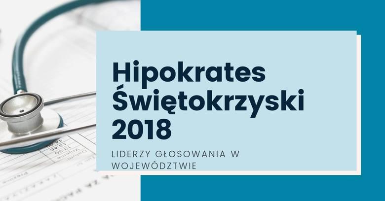 Trwa wielki plebiscyt medyczny Hipokrates Świętokrzyski 2018 w którym po raz kolejny wraz z Państwem przyznamy nagrody pracownikom świętokrzyskiej służby