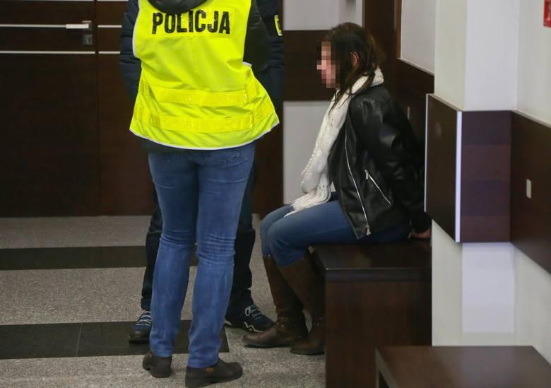 Barbara J. została dziś doprowadzona do sądu