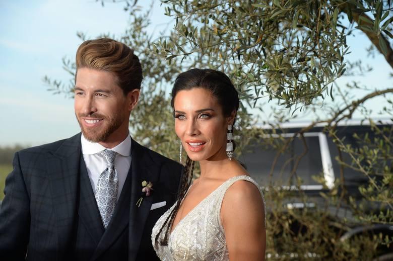 Sergio Ramos wziął ślub z Pilar Rubio. Nie zaprosił Cristiano Ronaldo [ZDJĘCIA]
