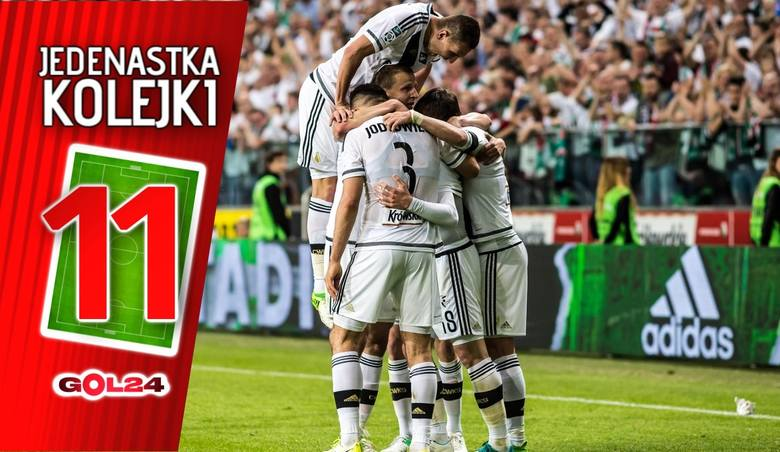 Jedenastka 34. kolejki LOTTO Ekstraklasy według GOL24 [GALERIA]